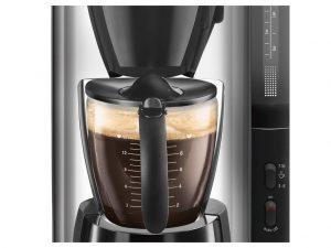 wateraanduiding, aan/uitknop, pot koffie