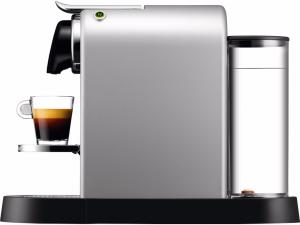 zijkant Krups Nespresso Citiz Zilver XN740BNL