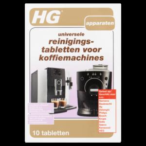 Hg Reinigingstabletten koffiemachine