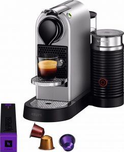 Krups Nespresso Citiz en Milk zilver XN760B