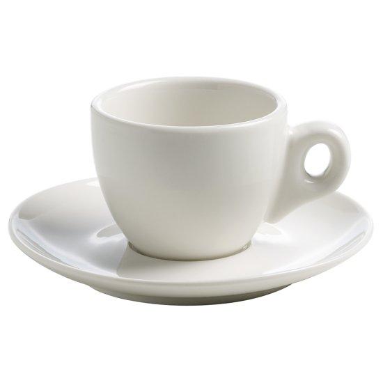 Maxwell & Williams White Basics Espressokop en schote