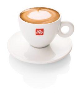 Illy Cappuccino Kop en Schotel