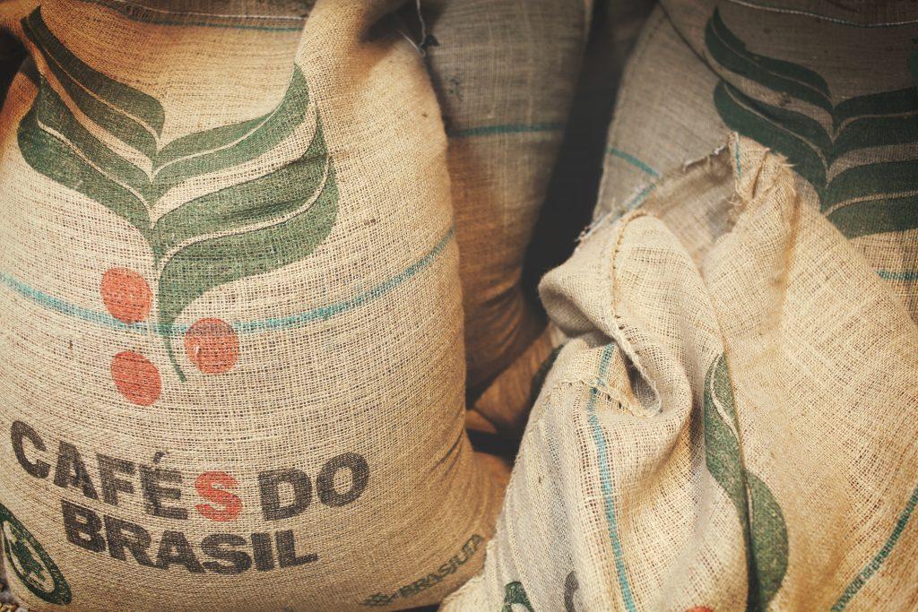 Robusta koffiebonen Zuid-Amerika