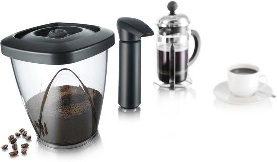 Tomorrow's Kitchen Vacuüm Koffiebewaardoos - 500 g - inclusief pomp