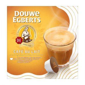 Douwe Egberts Café Au Lait koffiecups