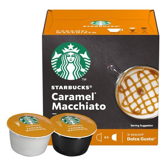 Starbucks® Caramel Macchiato koffie cups