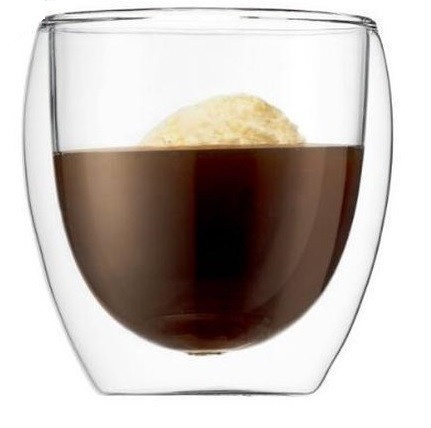 Dubbelwandig Espresso Glas 80ml