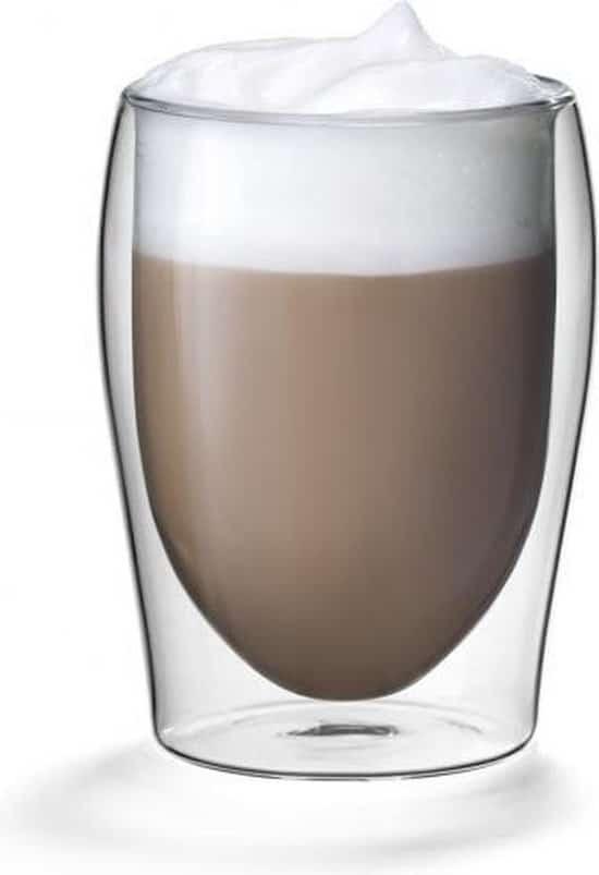 Isoglas dubbelwandig cappuccino glas