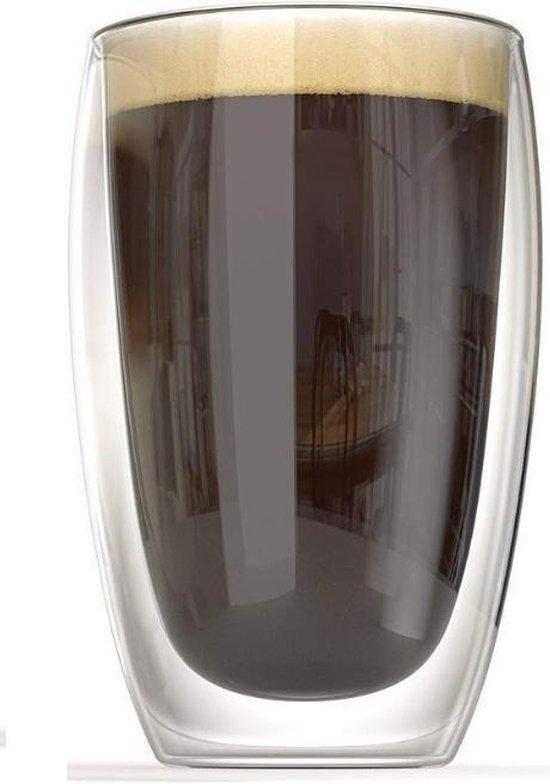JAP Dubbelwandig Glas450ml