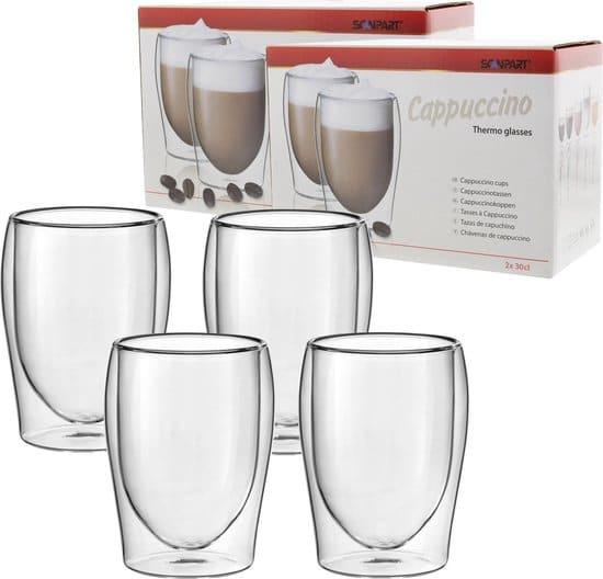 Scanpart Cappuccino Thermo glazen 30 cl