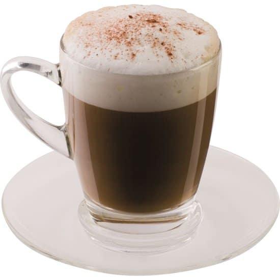 Scanpart Cappuccino glas - kop & schotel