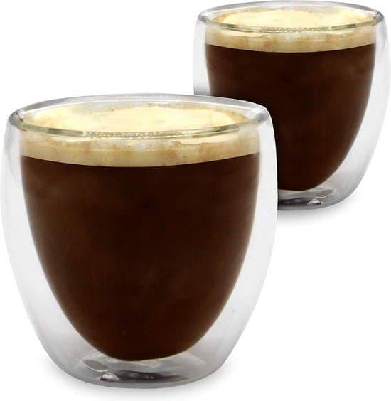 Umigal dubbelwandig espresso glas