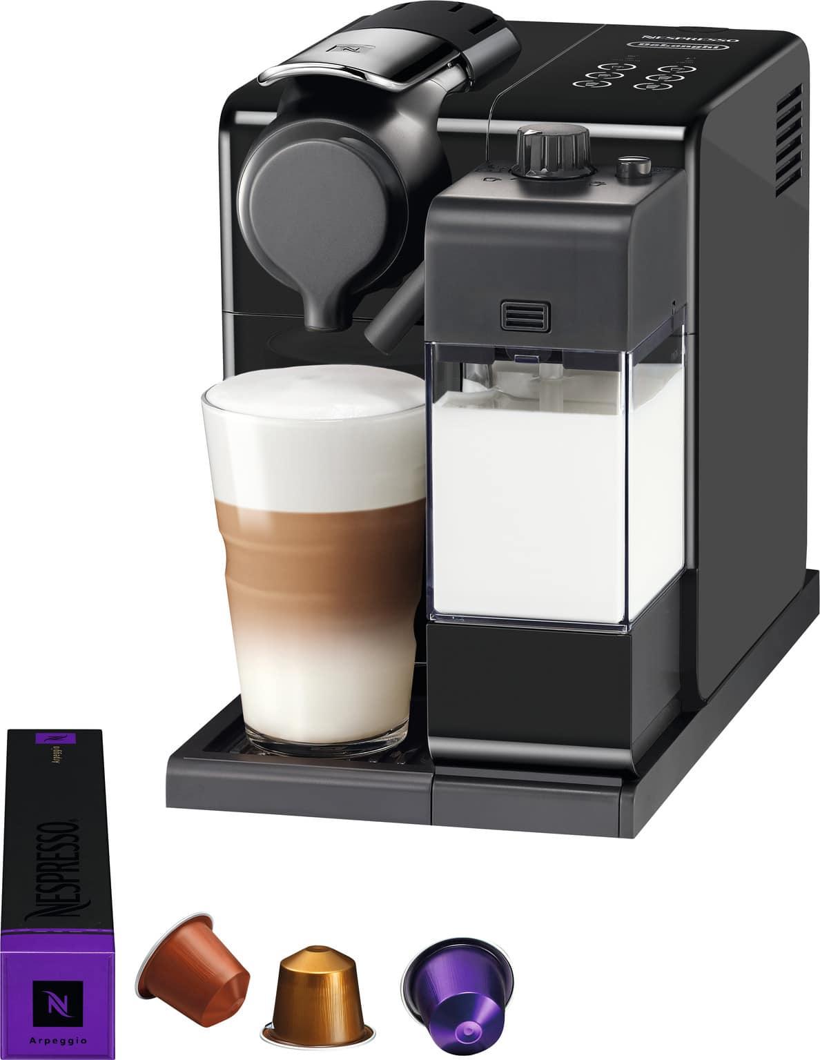 Nespresso lattissima koffiecupmachine met melkopschuimer