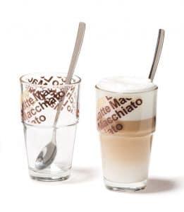 latte macchiato dubbelwandige glazen
